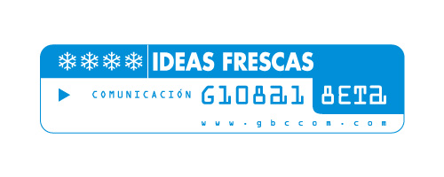 Logotipo agencia Global Beta Comunicación