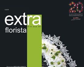 Design and layout Extraflorista magazine