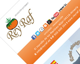 Business card Rey Raf